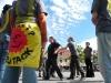 Protestaktion in Kalmar