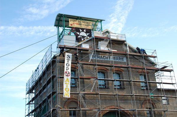 09.12.2009 - Endlager Morsleben besetzt