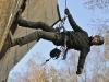12.11.2011 - Unruhetag im Wendland; Kletteraktion B191