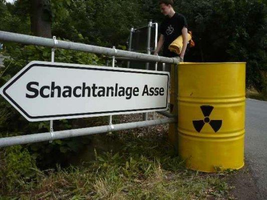 Abgesoffenes Atommüllendlager Asse-II