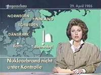 Tschernobyl - Tagesschau am 29.04.1986