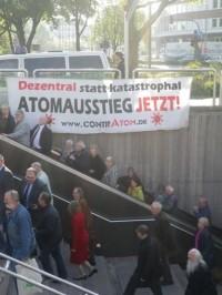 05.05.2011 - Proteste bei EON Hauptversammlng in Essen