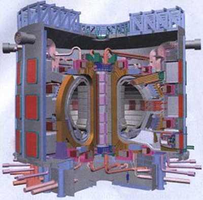 Fusionsreaktor ITER. Quelle: Greenpeace Magazin