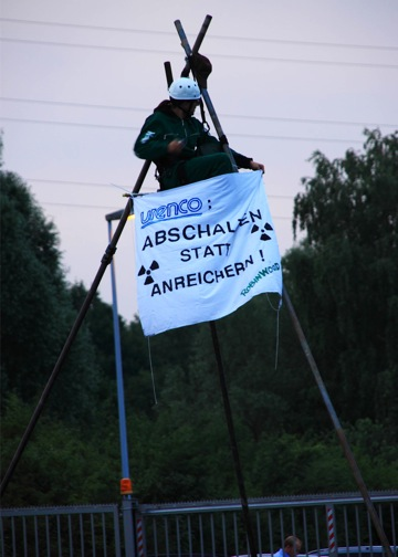06.07.2011 - Blockade der UAA Gronau