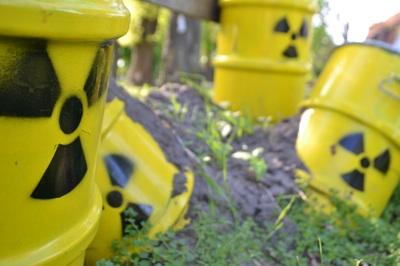 Atommüllfässer