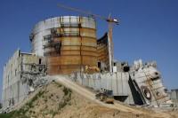 Abriss des Kernkraftwerkes in Arneburg