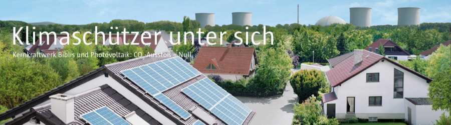 """Werbekampagne """"Klimaschützer unter sich"""" - Deutsches Atomforum"""
