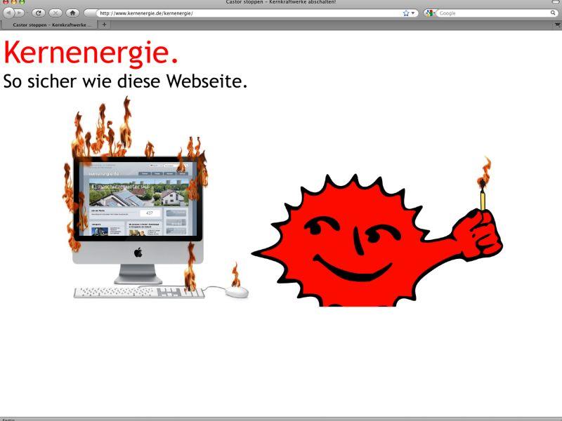 www.kernenergie.de am 09.11.2011