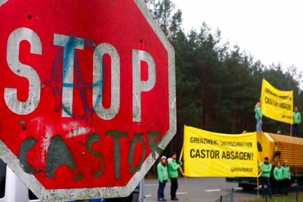 Greenpeace-Aktion am 31.10.2011
