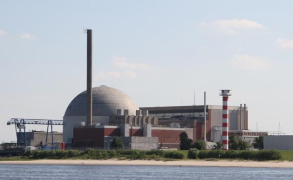 Stillgelegtes Atomkraftwerk Stade