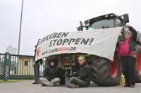 11.11.2011 - Blockade des Bergwerks Gorleben