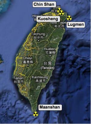 Atomstandorte Taiwan