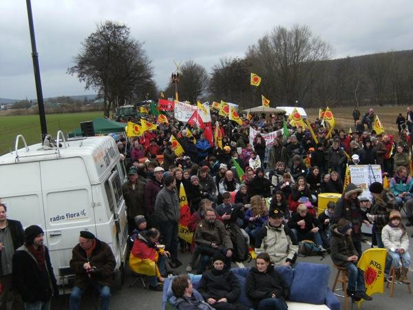 15.01.2011 - Demo in Grohnde