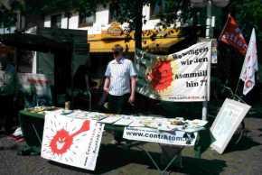 2002: Infotisch in Buchholz