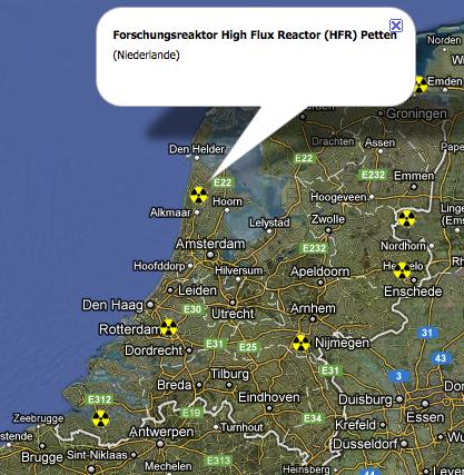 Atomstandorte Niederlande: Petten