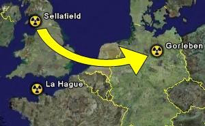Rücktransport Castor Sellafield Gorleben