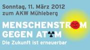 Menschenstrom 2012 Schweiz