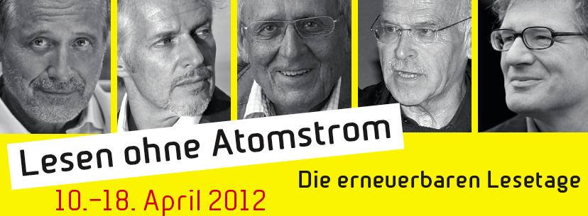 Lesen ohne Atomstrom 2012