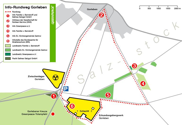 Greenpeace: Rundwanderweg Gorleben