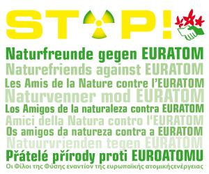 Banner EURATOM Naturfreunde