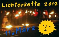Lichterkette 2012