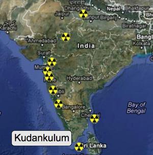 Atomstandort Kudankulum / Indien