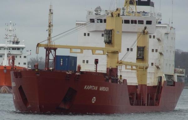 01.04.2012: Kapitän Mironov auf dem Nord-Ostsee-Kanal