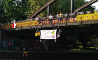 28.05.2012 - Protest gegen Atommüllschiff Obrigheim-Lubmin; Foto: Sofa MS