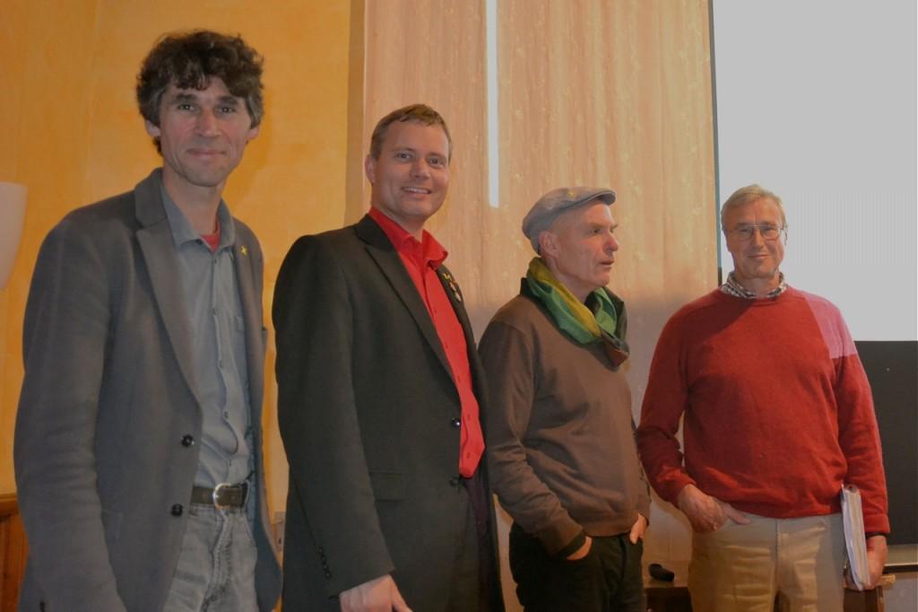 Vortrag am 13.7.2012 - Referenten Dettmann, de Beyer, Donat und Ehmke (beide BI)
