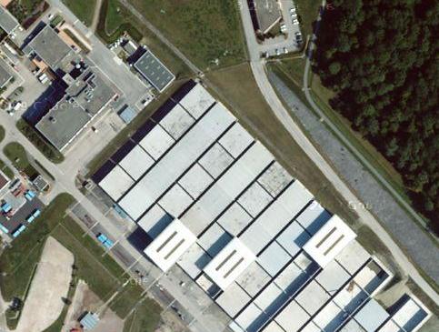 Endlager Centre de L'Aube/Frankreich; Bild: googlemaps