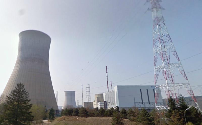 Belgisches AKW Tihange; Bild: google street view