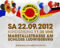 Demo 22.09.2012 Ludwigsburg