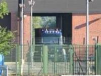 Atommüll-Anlieferung in Ahaus im Juli 2010