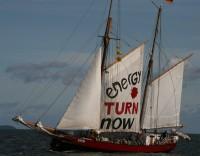 Segelschiff Lovis, Anti-Atom-Segeltörn auf der Ostsee 2012