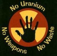 Uran Protest Hand