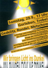"Flugblatt ""Licht ins Dunkel"" 29.09.; Quelle: wirbringenlichtinsdunkel.blogspot.de"