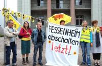 05.09.2012 - Mahnwache Fessenheim stop! Bild: Fessenheimstop.org