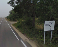 Zufahrt AKW Garona, Spanien; Bild: maps.google.com