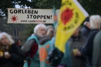 Gorleben: Protest am 29.09.2012 auf den Zufahrtsstraßen