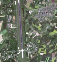 Atombomben / Flughafen Büchel, Bild: google earth