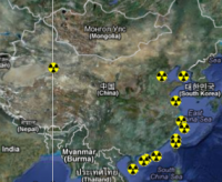 Atomstandorte in China