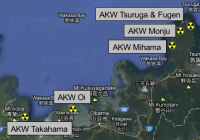 Atomanlagen in der Präfektur Fukui / Japan