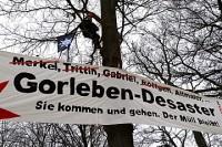 Januar 2013: Protest bei Altmaier-Besuch im Wendland