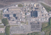 Atomkomplex Hinkley Point, England; Bild: maps.google.de