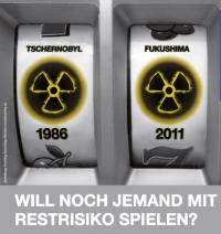 Restrisiko - Demo zum AKW Grafenrheinfeld am 21.4.2013