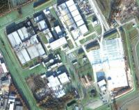 Urananreicherungsanlage Gronau; Bild: maps.google.com
