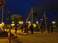 29.04.2013 - Blockade des AKW Neckarwestheim; Bild: http://neckarwestheim.antiatom.net