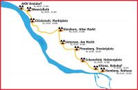 Karawane 2013 Brokdorf - Hamburg