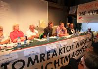 Diskussionsveranstaltung zum BER II in Berlin Wannsee am 15.08.2013, Bild: Anti Atom Berlin