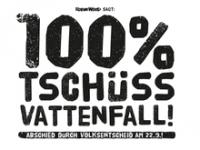 100% Tschüss Vattenfall